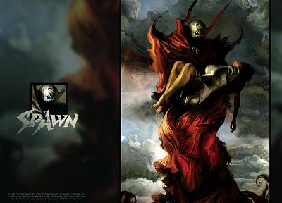 black, dark, Spawn - related desktop wallpaper