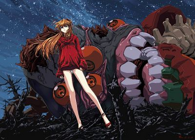 vectors, Neon Genesis Evangelion, Asuka Langley Soryu, EVAs - related desktop wallpaper