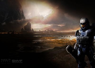 spartan, Halo, Halo Reach - random desktop wallpaper