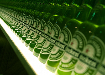 beers, bottles, Heineken - desktop wallpaper