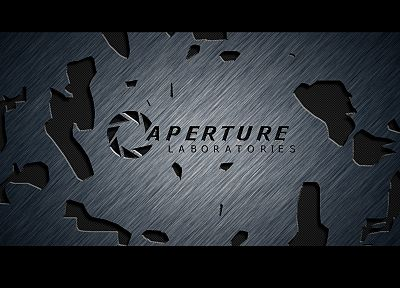 video games, Portal, Aperture Laboratories - random desktop wallpaper