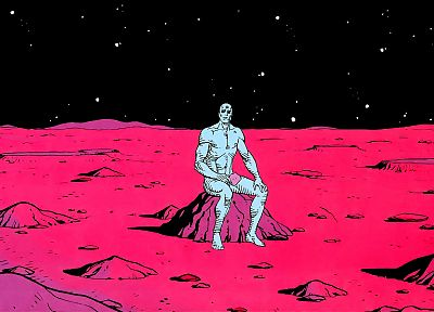 Watchmen, Dr. Manhattan - random desktop wallpaper