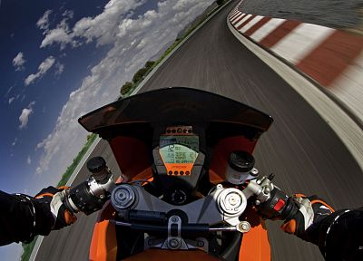 vehicles, KTM RC8, motorbikes - random desktop wallpaper