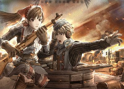 Valkyria Chronicles - related desktop wallpaper