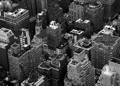cityscapes, buildings, New York City, Manhattan - desktop wallpaper