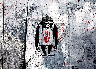 graffiti, Banksy, street art - related desktop wallpaper