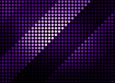 minimalistic, purple, patterns, dots - related desktop wallpaper