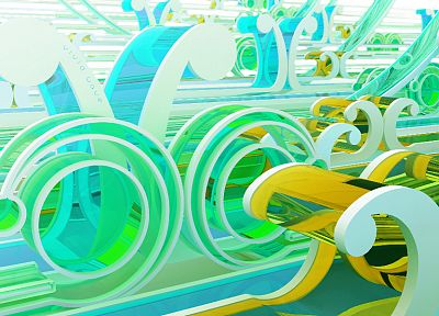 abstract, CGI, chromatic, K3 Studio - desktop wallpaper