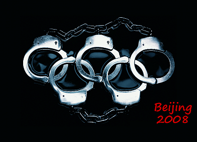 handcuffs, Olympics - random desktop wallpaper