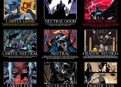 Batman, DC Comics, superheroes, alignment - random desktop wallpaper