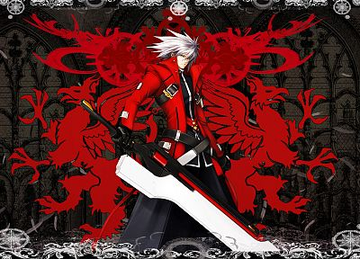 Blazblue, Ragna the Blood Edge - random desktop wallpaper