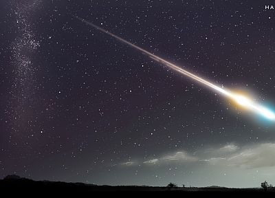 outer space, meteorite, skyscapes - random desktop wallpaper