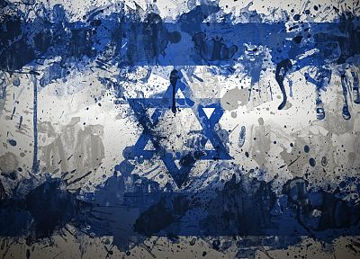 Israel, flags - random desktop wallpaper