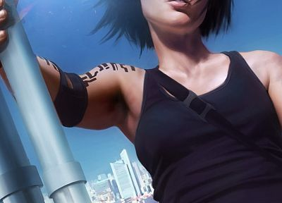 video games, Mirrors Edge, characters, Faith Connors - related desktop wallpaper
