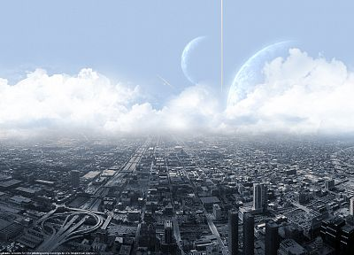 cityscapes, science fiction, cities - related desktop wallpaper