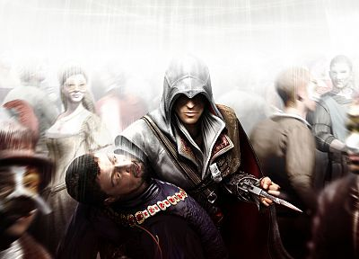 video games, Ezio, Assassins Creed 2 - random desktop wallpaper