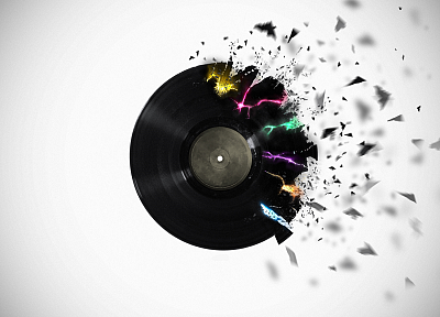 record, vinyl, digital art, colors, lp record - related desktop wallpaper