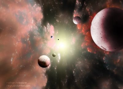 outer space, planets, space scenes - desktop wallpaper