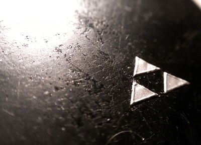 dark, triforce, The Legend of Zelda - random desktop wallpaper