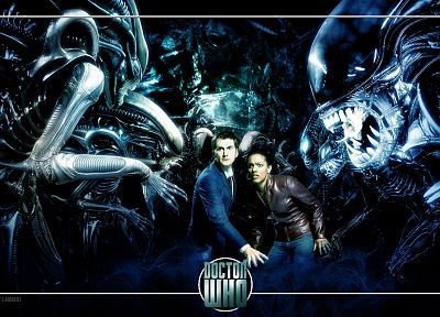 David Tennant, Doctor Who, Freema Agyeman, Martha Jones, Tenth Doctor - related desktop wallpaper