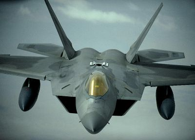 aircraft, F-22 Raptor - random desktop wallpaper