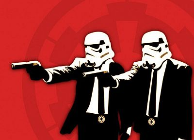 red, stormtroopers, Pulp Fiction - related desktop wallpaper