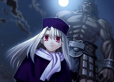 Fate/Stay Night, anime, Berserker (Fate/Stay Night), Fate series, Illyasviel von Einzbern - desktop wallpaper