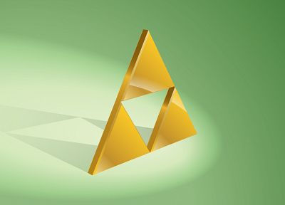 triforce, The Legend of Zelda, illuminati - random desktop wallpaper