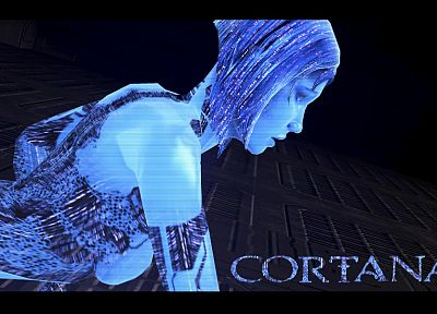 Cortana, Halo - random desktop wallpaper