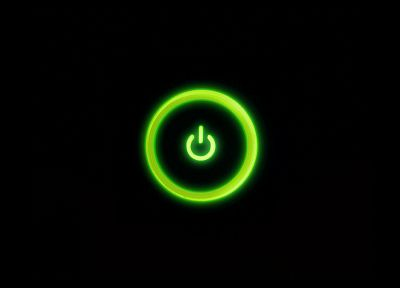 green, power button, Xbox 360 - related desktop wallpaper