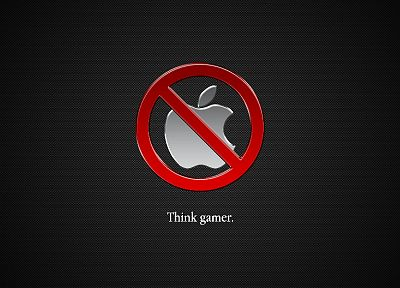 Apple Inc., technology, gamers, logos - related desktop wallpaper