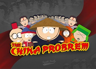 South Park, China, Eric Cartman, Stan Marsh, stereotype, Kenny McCormick, Kyle Broflovski - related desktop wallpaper