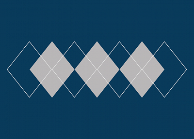 minimalistic, argyle pattern - random desktop wallpaper