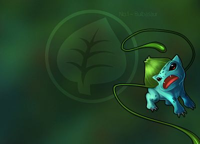 Pokemon, Bulbasaur - desktop wallpaper