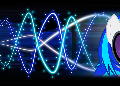 lights, My Little Pony, Vinyl Scratch - related desktop wallpaper
