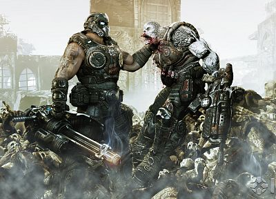 death, Gears of War, Aliens - related desktop wallpaper