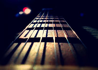 guitars, macro - popular desktop wallpaper