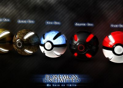 Pokemon, Poke Balls - random desktop wallpaper