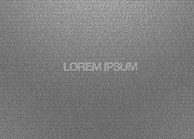 text, quotes, typography, latin, Lorem ipsum - random desktop wallpaper