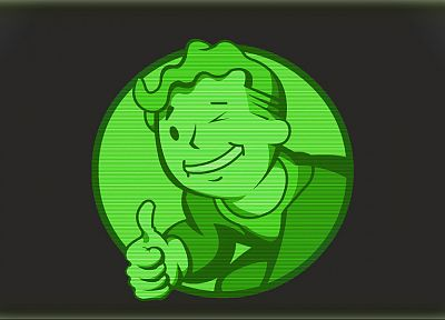 Fallout, Vault Boy, logos - random desktop wallpaper