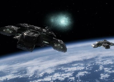 outer space, stars, deadalus, Stargate SG-1, hyperspace - desktop wallpaper