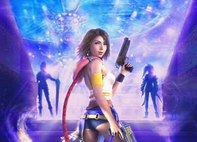 Final Fantasy, Yuna, Final Fantasy X-2 - random desktop wallpaper