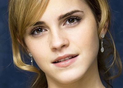 blondes, women, Emma Watson, actress, faces - related desktop wallpaper