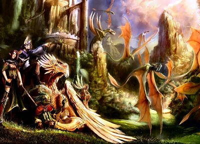 fantasy art, artwork - desktop wallpaper