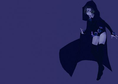 Teen Titans, Raven (character), DC Comics - desktop wallpaper