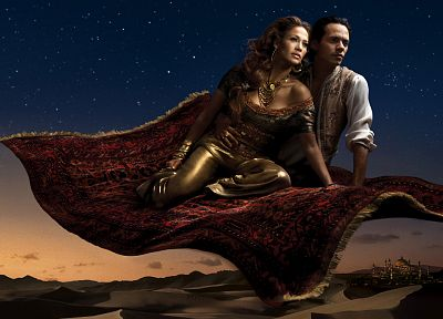 Disney Company, flying, Jennifer Lopez, carpet, Aladdin, Annie Leibovitz - related desktop wallpaper