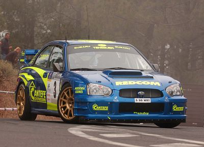 cars, rally, Subaru, Subaru Impreza WRC, racing, rally cars, racing cars, front angle view - related desktop wallpaper
