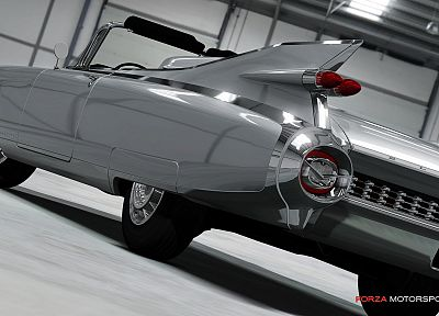 video games, cars, Xbox 360, Cadillac Eldorado, Forza Motorsport 4 - desktop wallpaper
