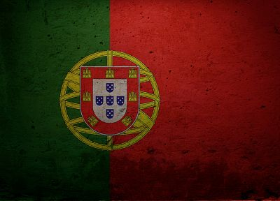 grunge, flags, Portugal - random desktop wallpaper