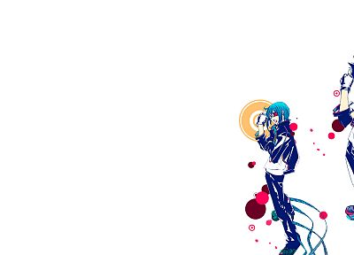 Air Gear, Minami Itsuki, simple background, Wanijima Akito, Oh! Great - random desktop wallpaper